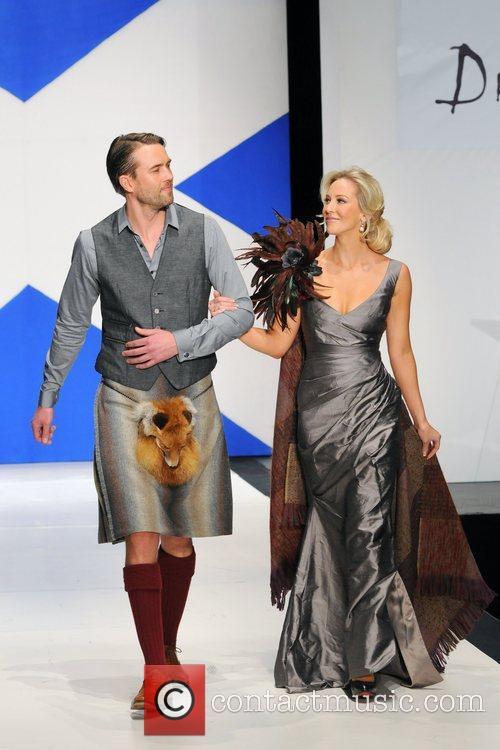 Louise Linton 'Dressed To Kilt' charity fashion show...