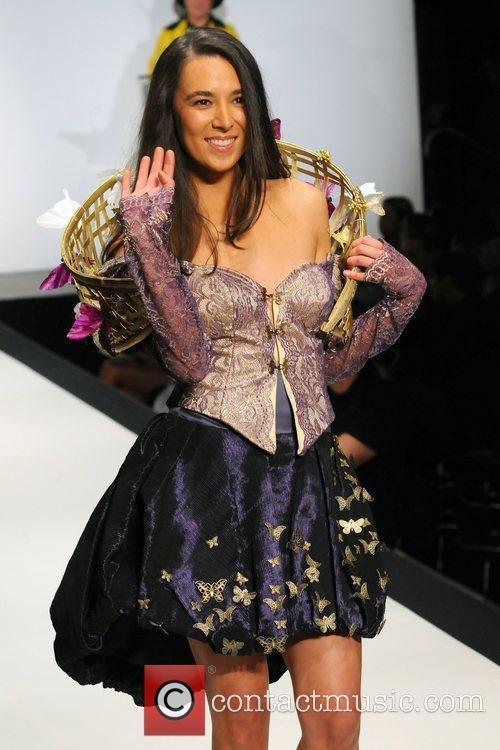 Natalie Cheng 'Dressed To Kilt' charity fashion show...