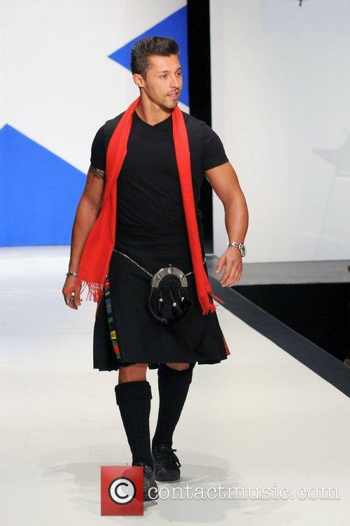 Orlando Villella 'Dressed To Kilt' charity fashion show...