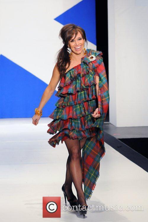 Sara Gore 'Dressed To Kilt' charity fashion show...