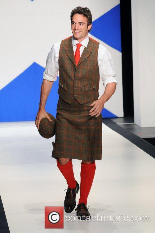 Thom Evans 'Dressed To Kilt' charity fashion show...