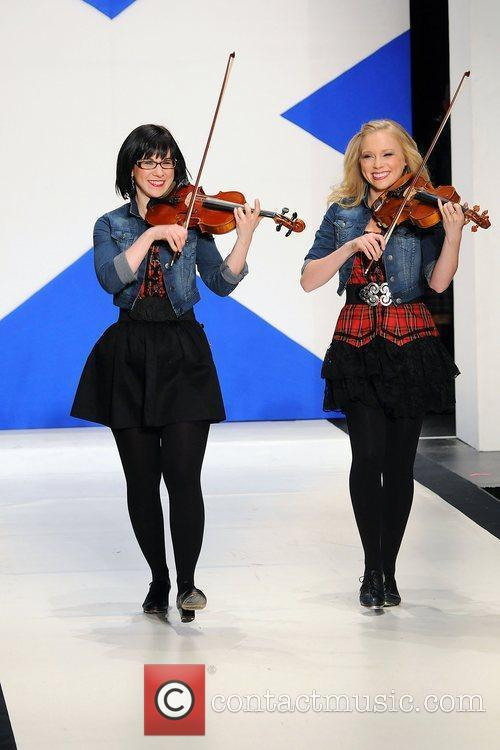 Bowfire 'Dressed To Kilt' charity fashion show at...