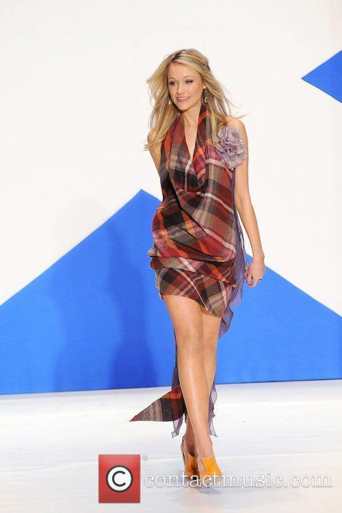 Katrina Bowden 'Dressed To Kilt' charity fashion show...