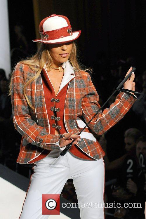 Model 'Dressed To Kilt' charity fashion show at...