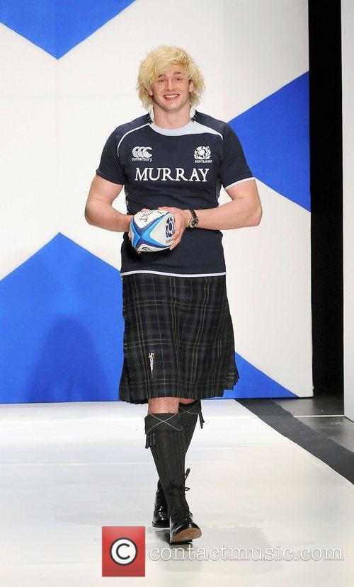 Richie Gray 'Dressed To Kilt' charity fashion show...