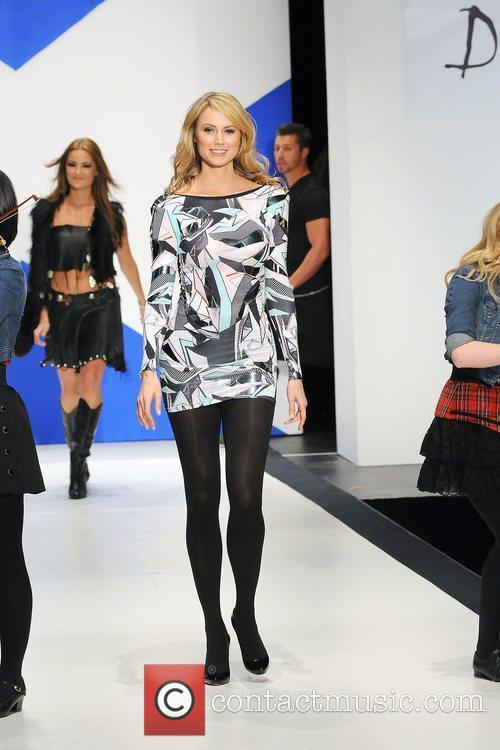 Stacy Keibler 'Dressed To Kilt' charity fashion show...