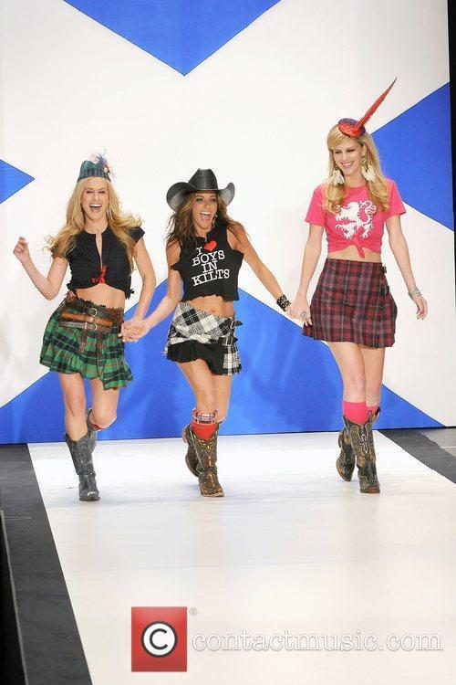 Stealing Angels 'Dressed To Kilt' charity fashion show...