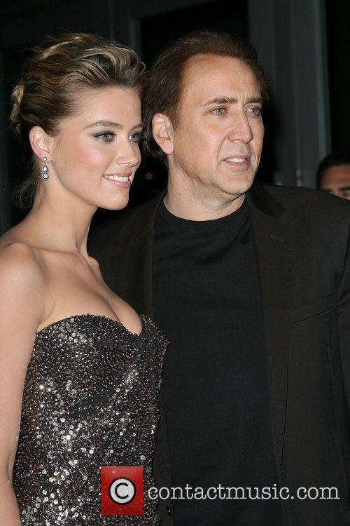 Nicolas Cage and Amber Heard 8