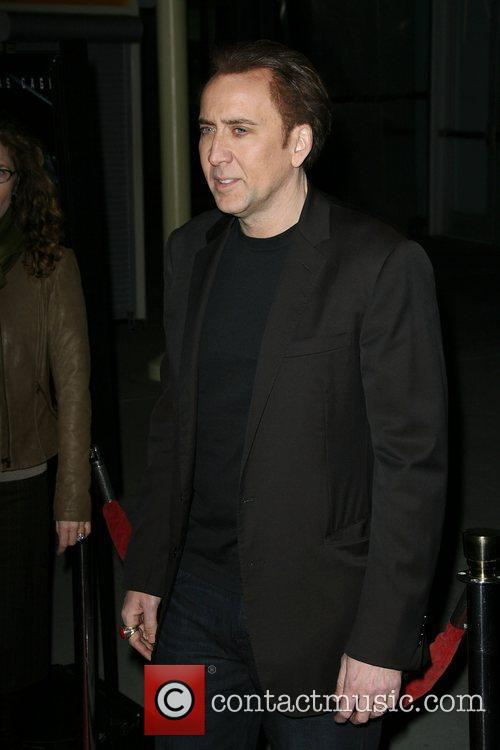 Nicolas Cage Los Angeles Screening of Drive Angry...