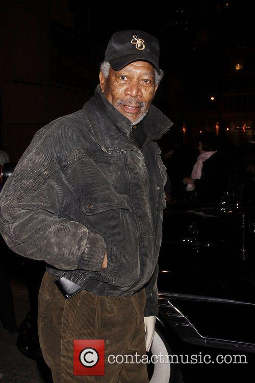 Morgan Freeman, Driving Miss Daisy and James Earl Jones
