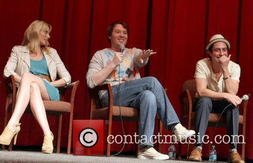 April Bowlby, Clay Aiken, Ben Feldman 2011 Outfest...