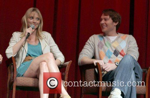 April Bowlby, Clay Aiken 2011 Outfest Film Festival...
