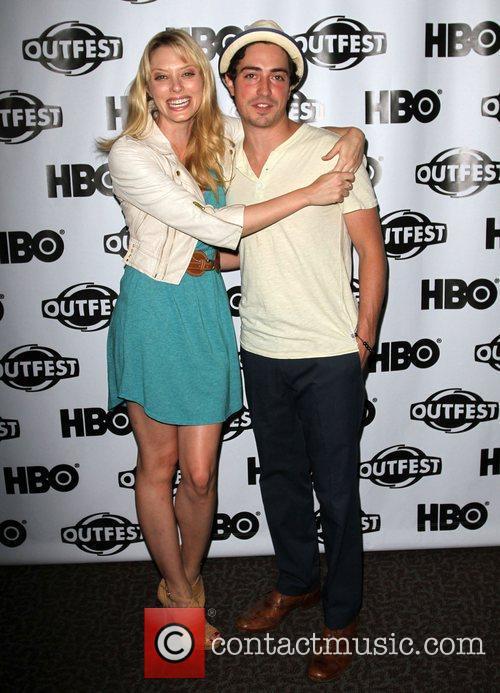 April Bowlby, Ben Feldman 2011 Outfest Film Festival...