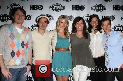 Clay Aiken, Ben Feldman and April Bowlby, Kirsten...