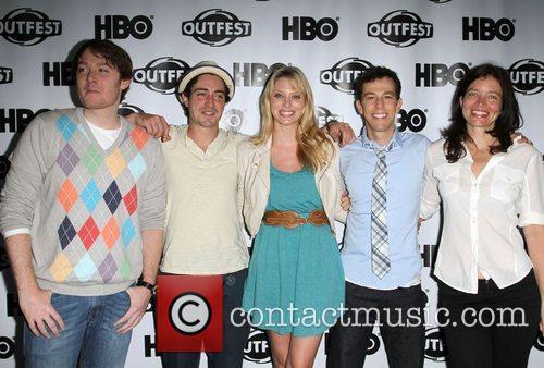 Clay Aiken, Ben Feldman and April Bowlby, Josh...