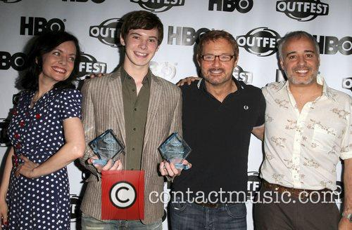 Guinevere Turner with Jury Members 2011 Outfest Film...