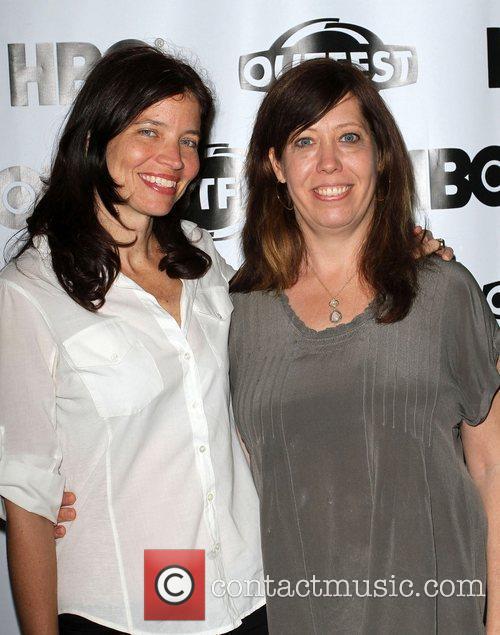 Jamie Babbit, Kirsten Schaffer 2011 Outfest Film Festival...