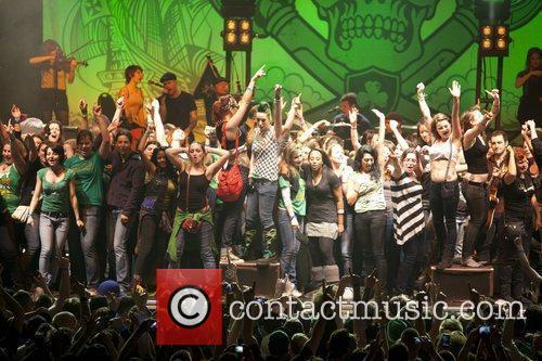 Dropkick Murphys perform live at the Roseland Ballroom