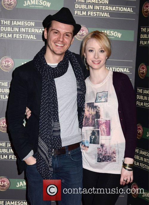 Fiona Glascott and Andrew Scott
