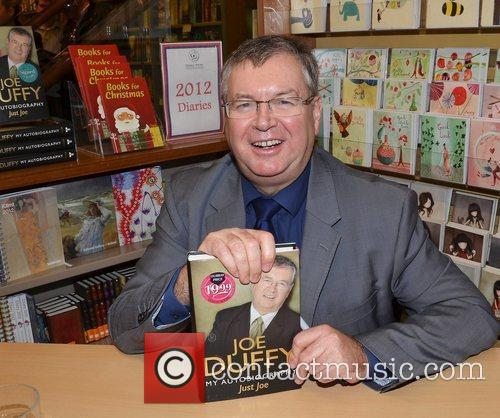 Broadcaster Joe Duffy signs 'Just Joe' at Dubray...