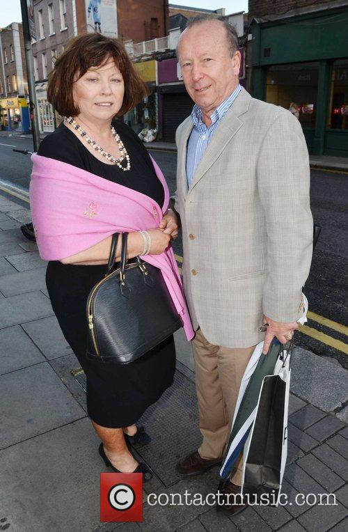 Mary Harney and her husband Brian Geoghegan Celebrities...
