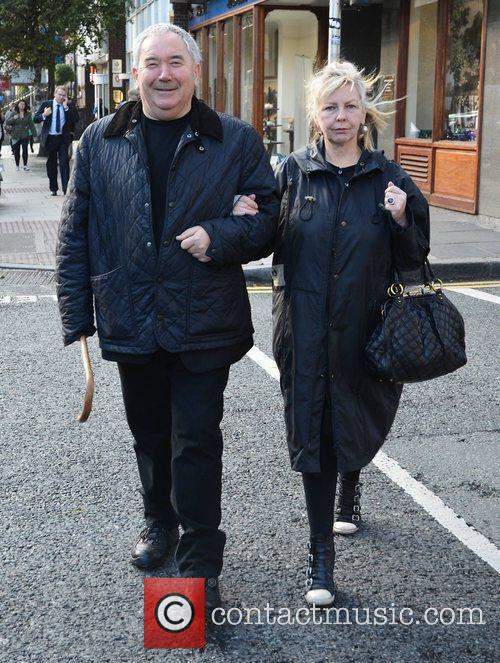 Harry Crosbie and his wife Celebrities out and...