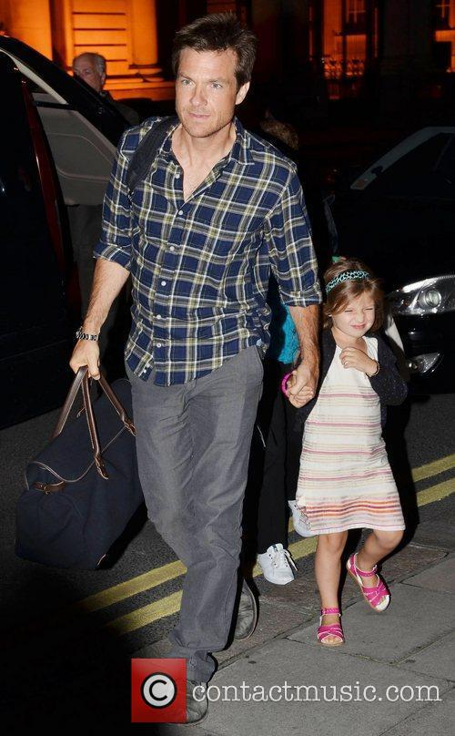 Jason Bateman and his daughter Celebrities out and...