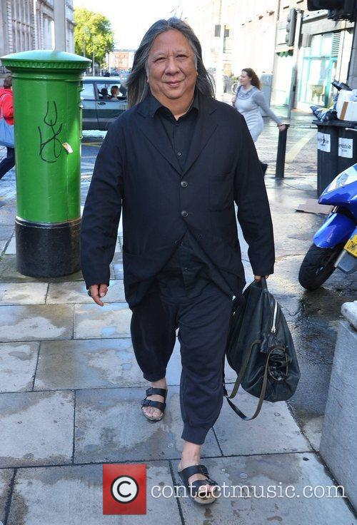 Celebrities out and about in Dublin City Centre