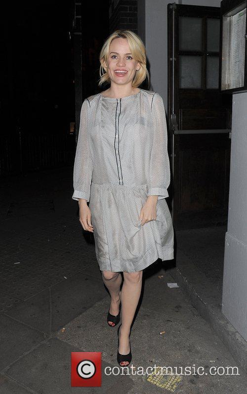 Aimee Ann Duffy aka Duffy leaving Concrete Club...