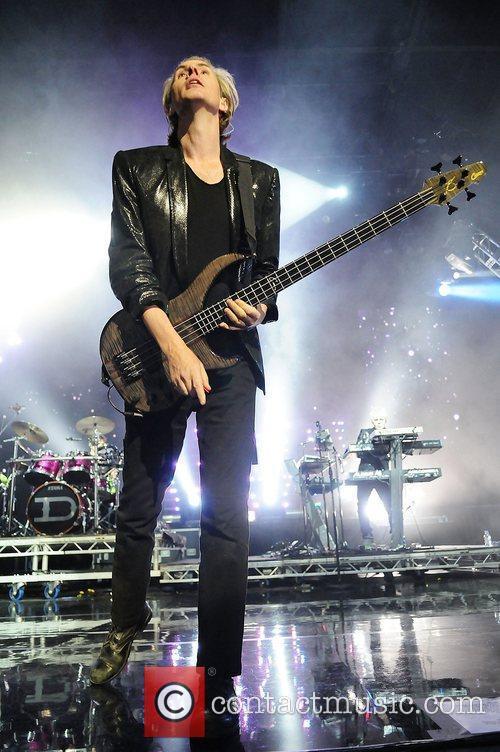 John Taylor of Duran Duran performs at Hard...