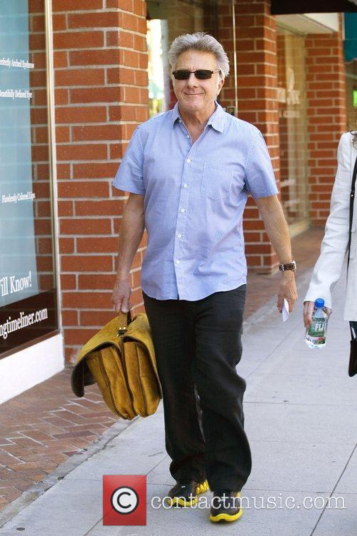 Dustin Hoffman out and about in Beverly Hills...