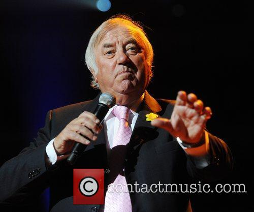 Jimmy Tarbuck performs  'For Dusty..A Tribute' at...