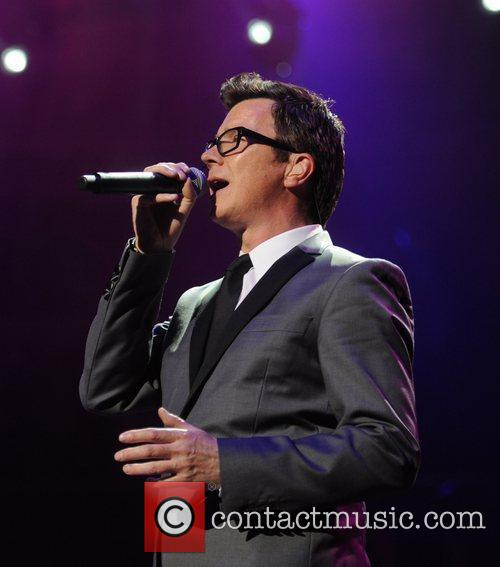 Rick Astley performs  'For Dusty..A Tribute' at...