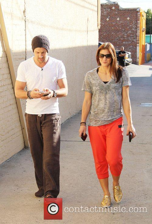 Maksim Chmerkovskiy and Hope Solo Dancing With The...