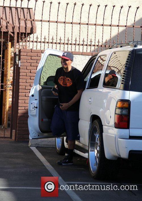 J.R. Martinez 'Dancing With The Stars' celebrities outside...