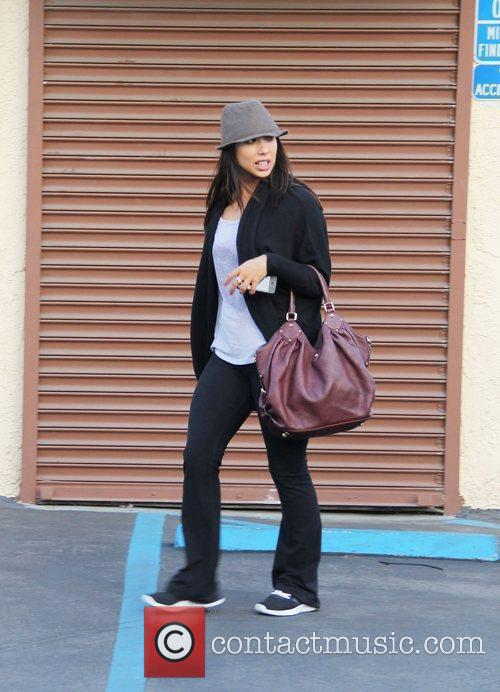 Cheryl Burke 'Dancing With The Stars' celebrities outside...