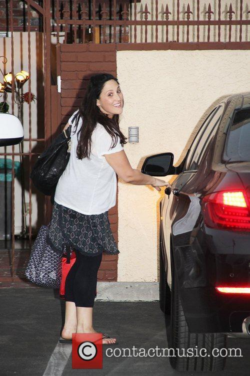 Ricki Lake 'Dancing With The Stars' celebrities outside...