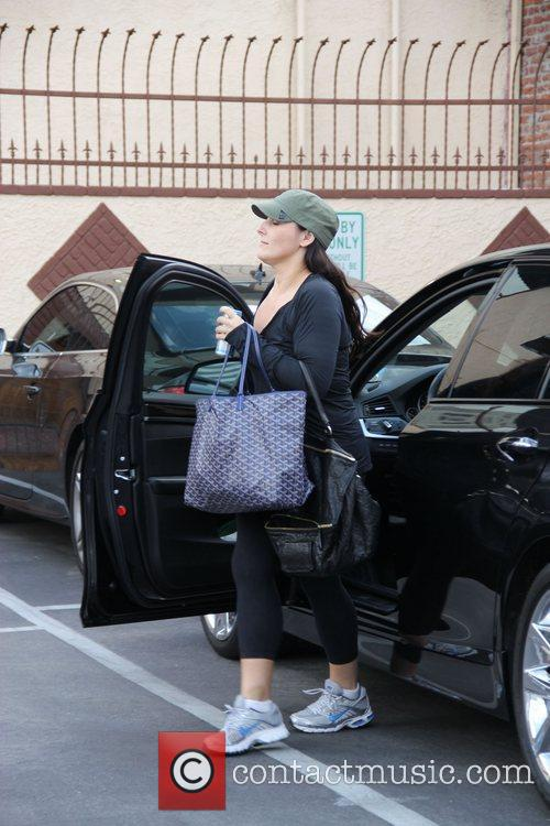 Celebrities arriving at 'Dancing With the Stars' rehearsals