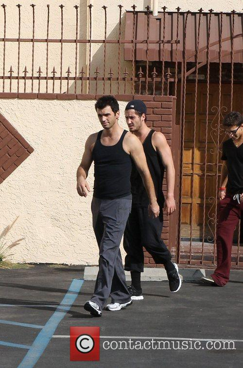 Tony Dovoloni 'Dancing With the Stars' celebrities outside...