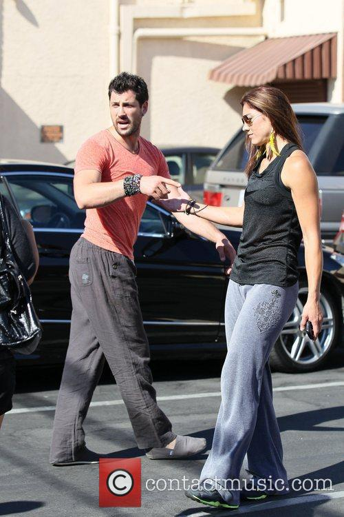 Hope Solo and Maksim Chmerkovskiy 'Dancing with the...