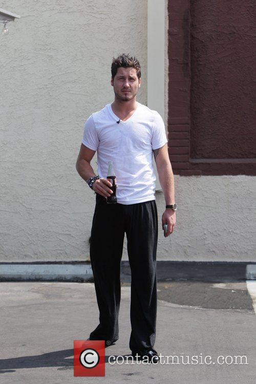 Val Chmerkovskiy 'Dancing with the Stars' celebrities enjoy...