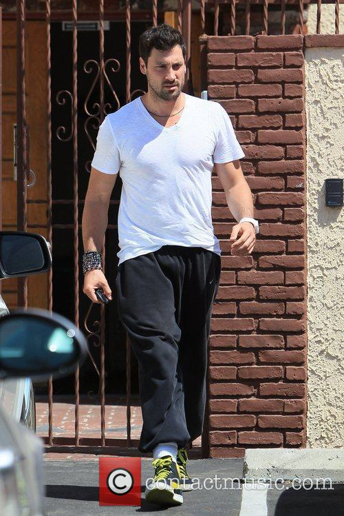 'Dancing with the Stars' celebrities are seen leaving...