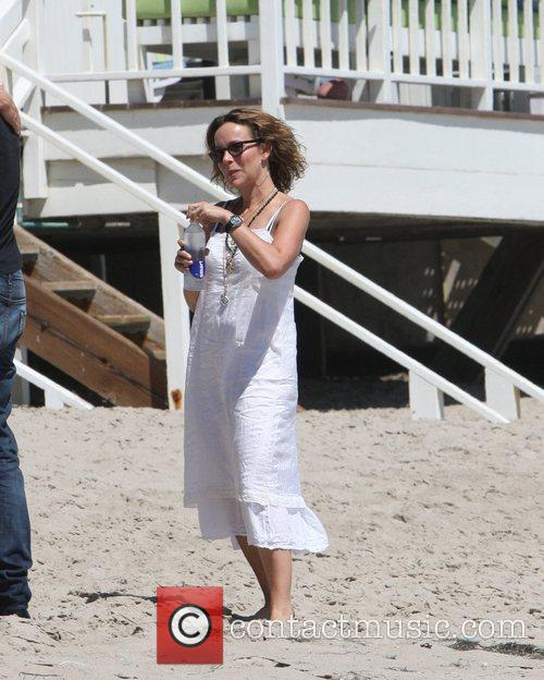 Attending a 'Dancing With The Stars' Malibu beach...
