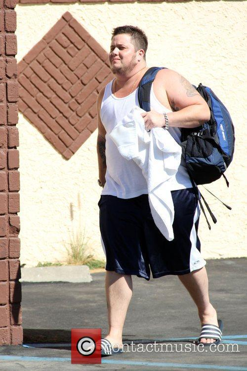 Chaz Bono 'Dancing with the Stars' celebrities outside...