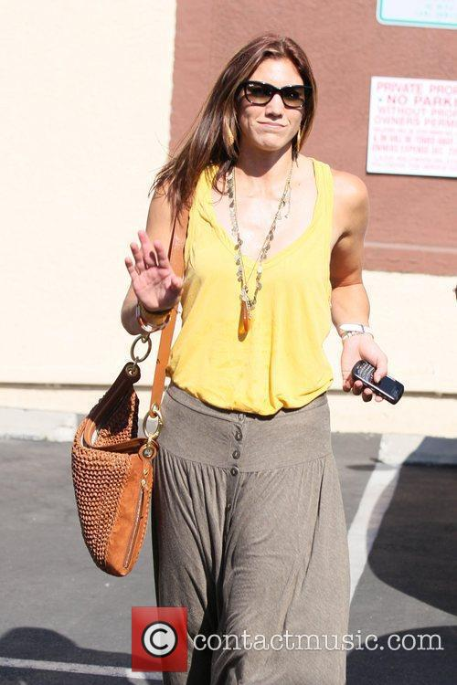 Hope Solo 'Dancing with the Stars' celebrities outside...