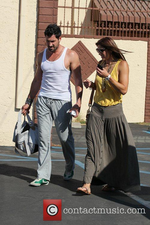 Maksim Chmerkovskiy and Hope Solo 'Dancing with the...