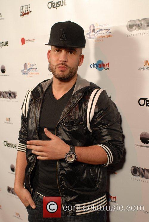 DJ Drama Dwayne Wade NBA Press Party at...