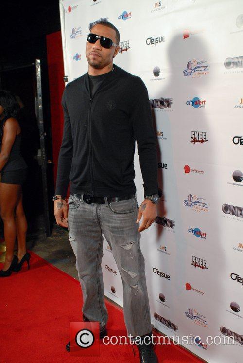 Kenyon Martin Dwayne Wade NBA Press Party at...