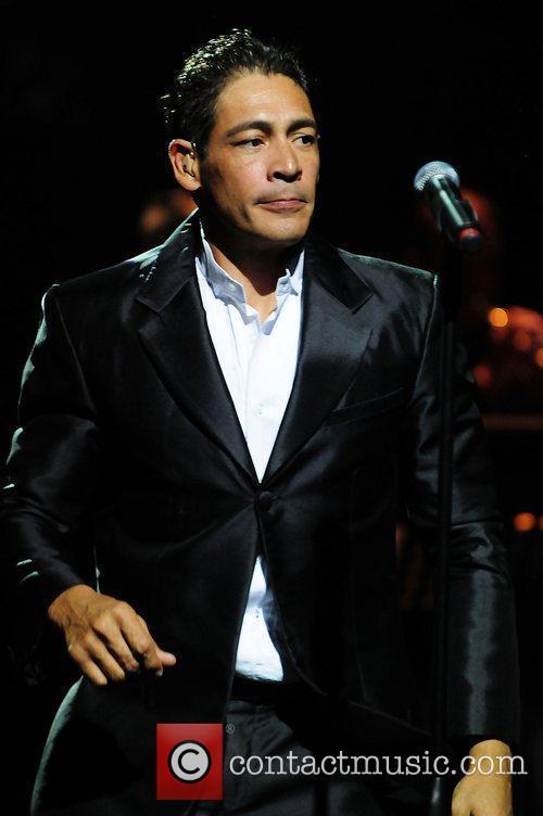 Johnny Lozada of EL Reencuentro performs live at...