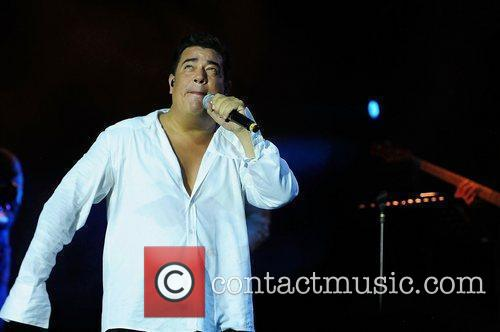 Ray Reyes performs live at James L. Knight...